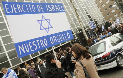 Spain pro israel