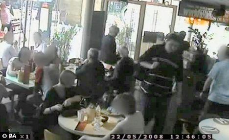Restaurant bombng