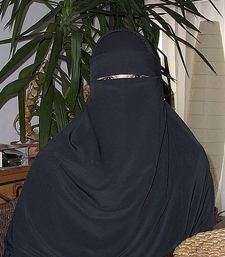 Veiled muslim