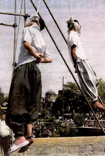 Gay hanigng islam