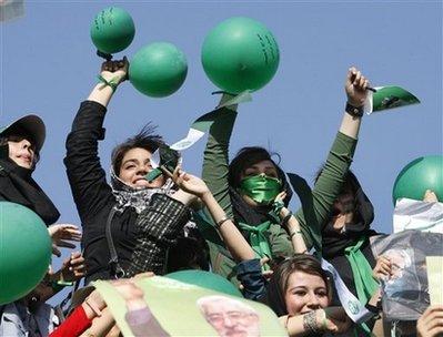 Green ballons
