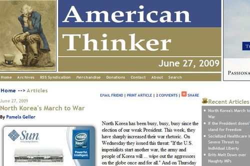 American thinker korea
