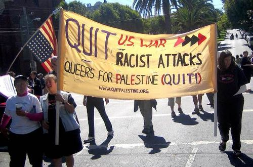 Queers for palestine
