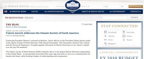 Isna white house