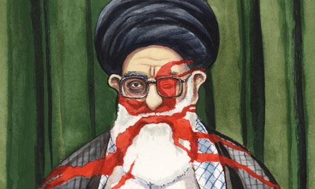 Iran cartoon