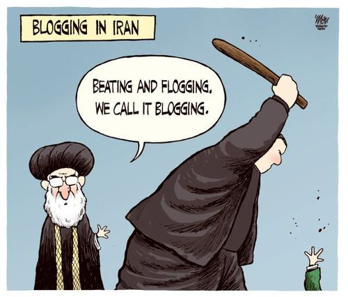 Iran blogtoon