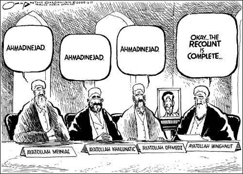 IRAN TOON RECOUNT