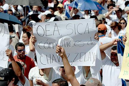 Honduras chavez