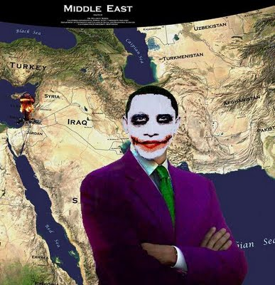 Obama IsraelMiddle_East_Map