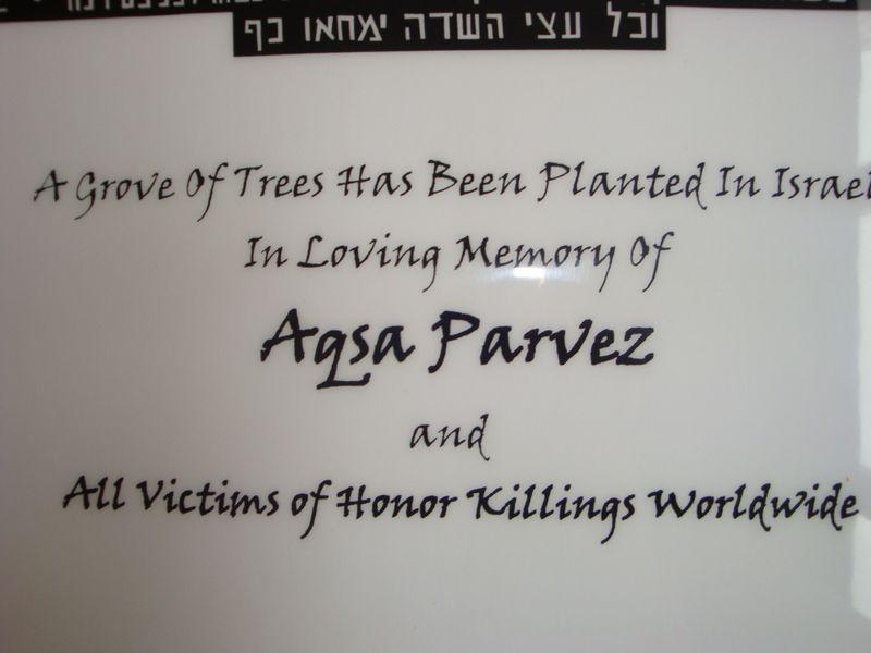 Aqsa parvez grove 020
