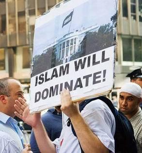 Muslim white house