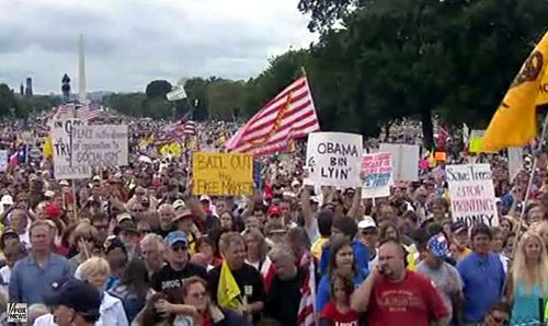 Tea party dc OVER