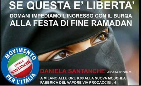 Italy burka