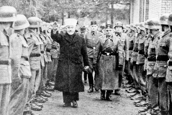 Palestinian leader amin