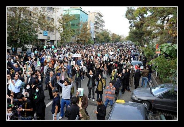 Iran riot nov 4