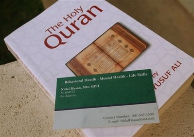Quran and card