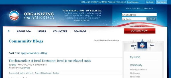 Obama antisemite web