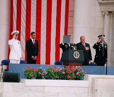 President Obama's disrespect for US national anthem
