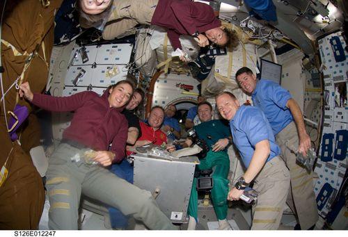 Thanksgivign astronauts
