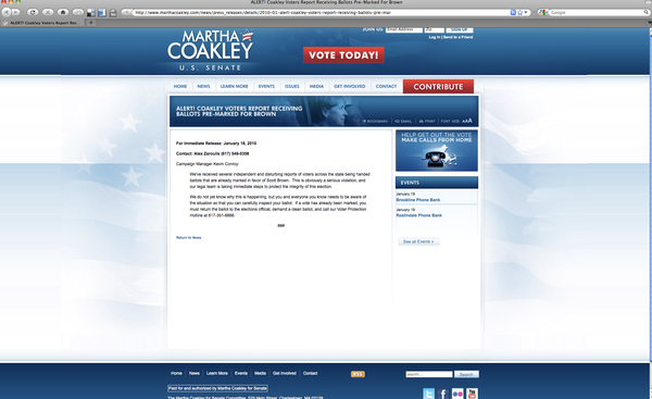 Coakley fraud