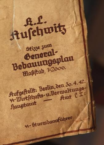 Auschwitz blueprints