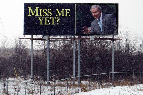 Bush miss