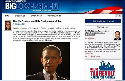 BG Obama deathcare