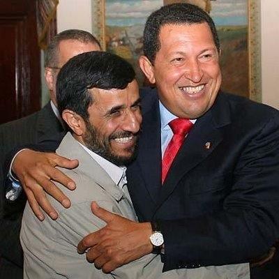 Ahmadinehad chavez