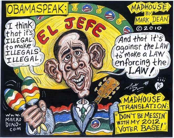 Obama illegal