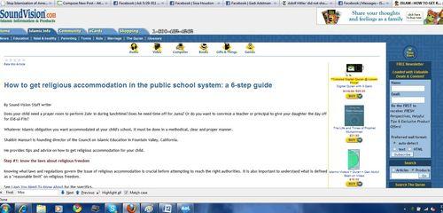 Public school islam