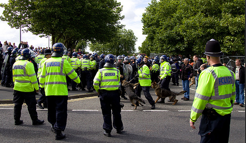 EDL dudley police