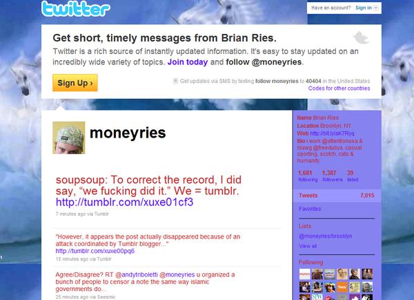 Brian twitter