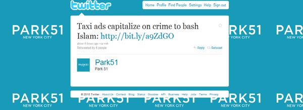 Park 51 tweet