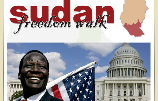 Freedom walk sudan