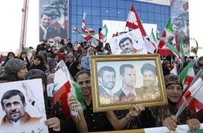 Ahmadinejad lebanon