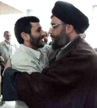 Nasrallah&ahmedinijad1