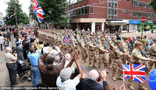 Brits meet muslims
