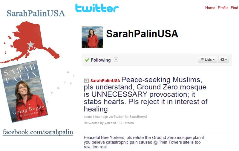 Palin twitter2