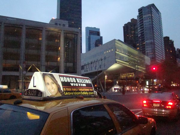 Taxi honor killing lincoln center (2)
