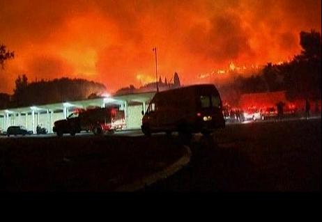 Israel fire123
