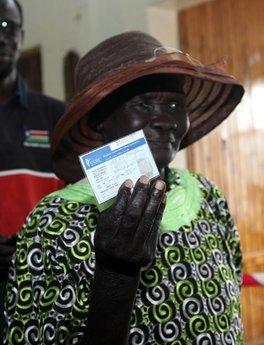 Sudan vote2
