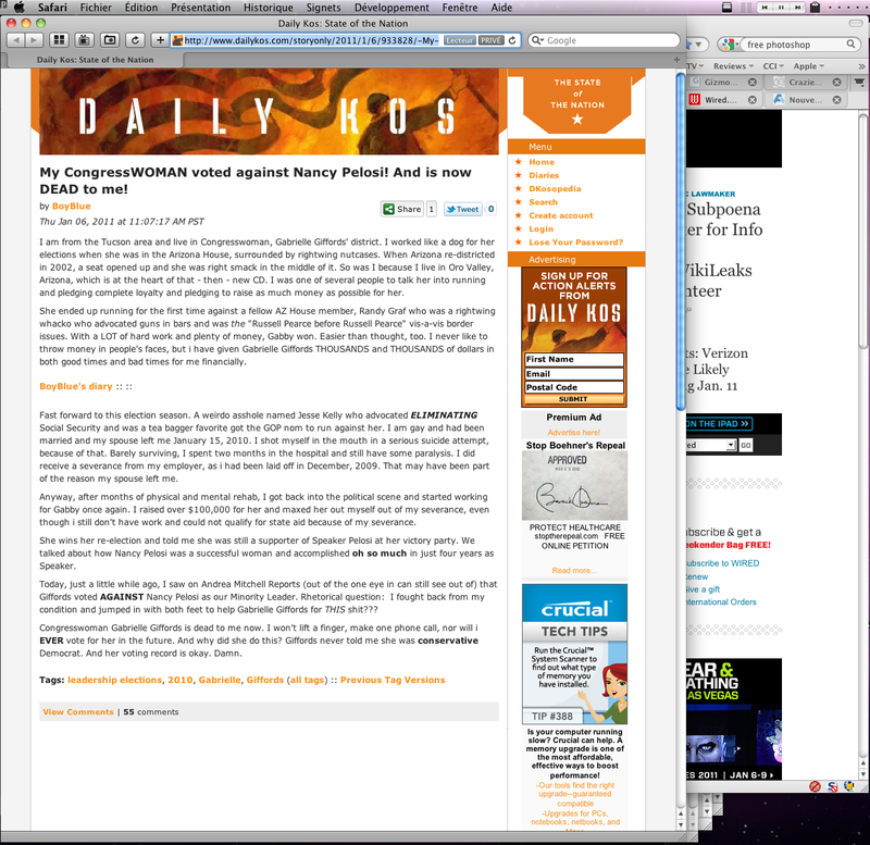 DailyKos Screenshot-1