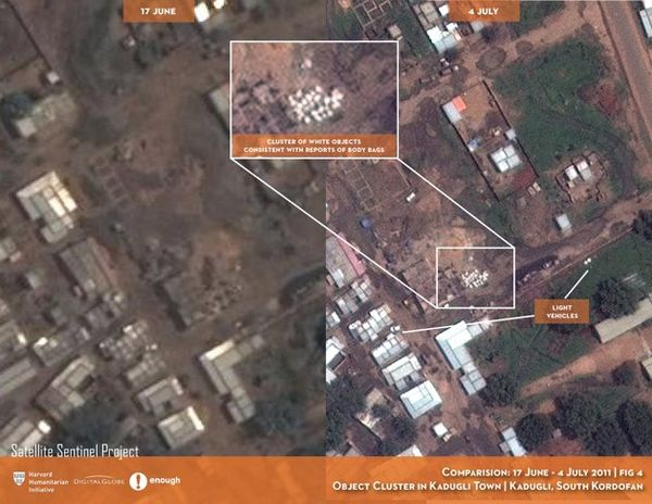 Sudan mass grave