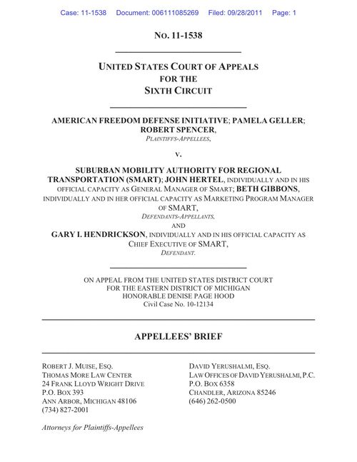 AFDI v SMART--Appellees' Brief--Filed