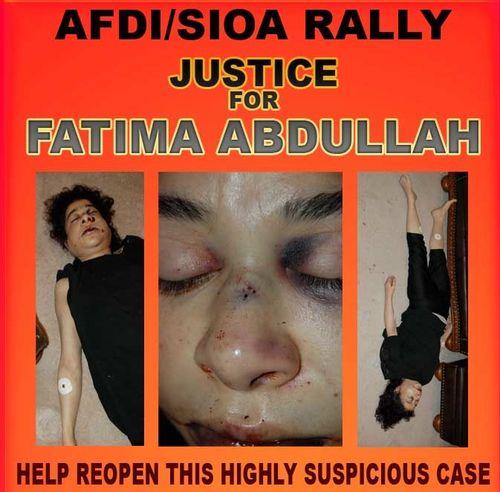 Fatima rally crimscene