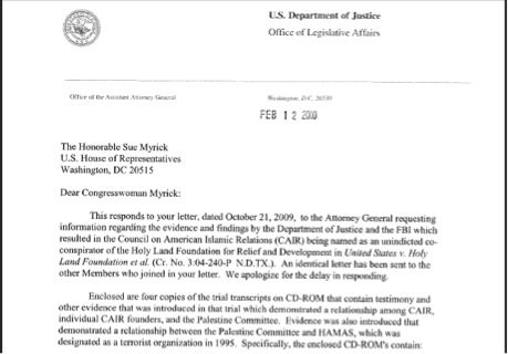 Cair letter