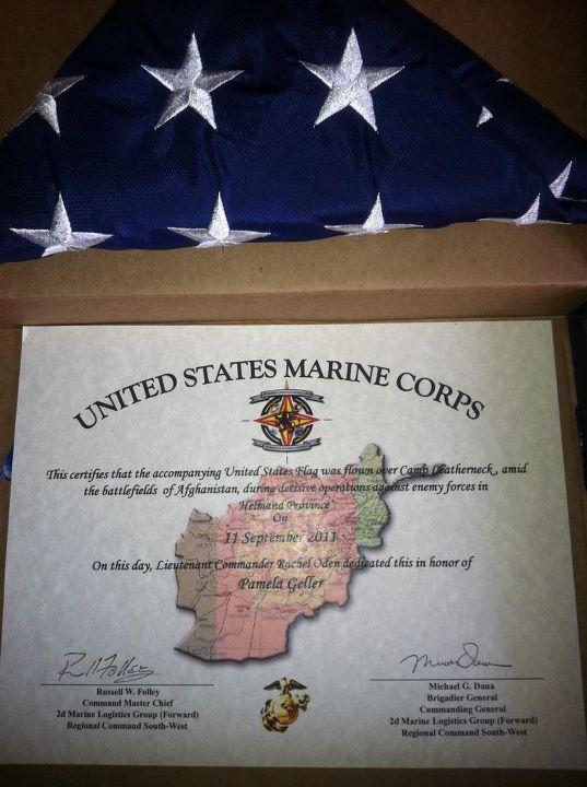 911flag USMC