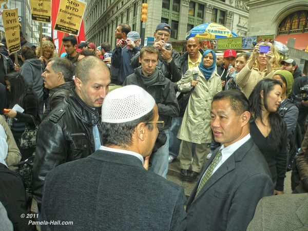 Muslim stop NYPD