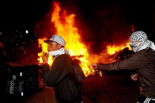 Occupy violence