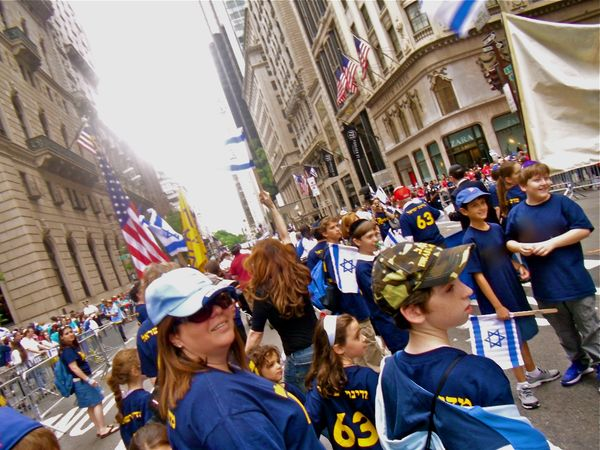 Israel parade kids